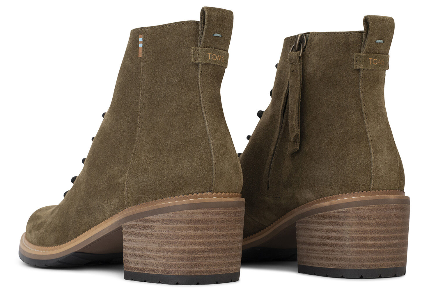 Military Olive Suede Women's Finn Boots