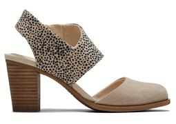 Cobblestone Cheetah Majorca Closed Toe Sandal