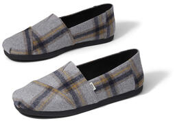 Grey Plaid CloudBound™ Alpargatas