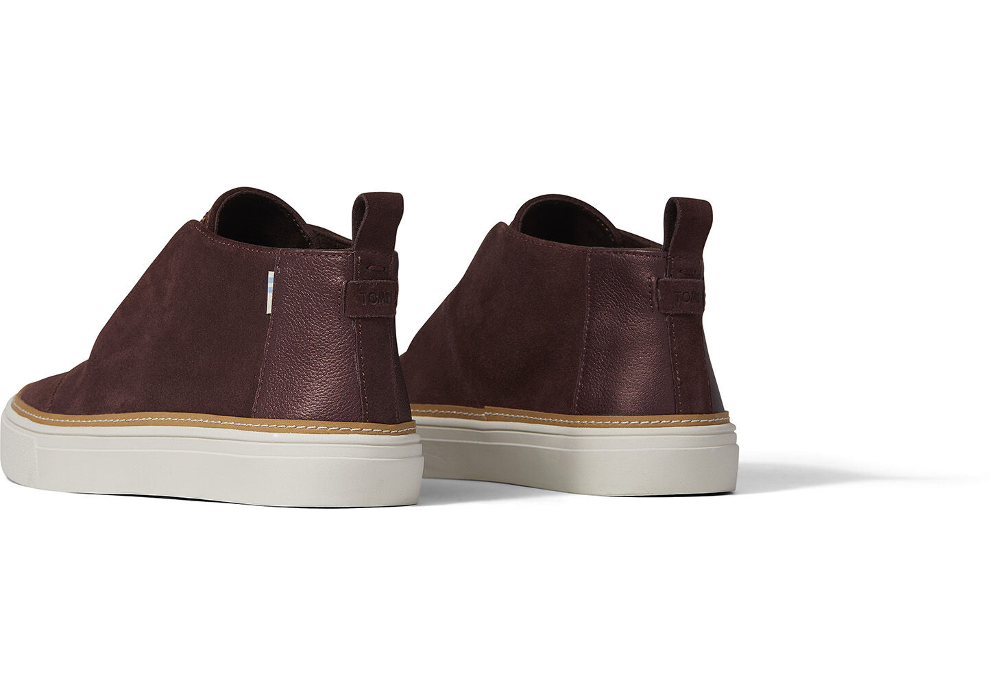 Forest Brown Suede and Pearlized