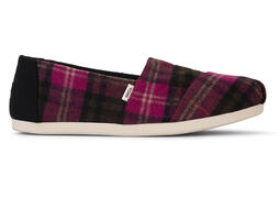 Fuschia Plaid CloudBound™ Alpargata