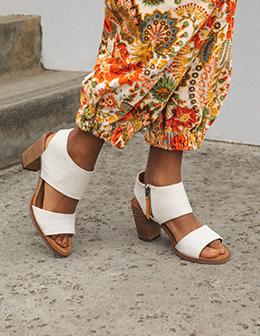 Model wearing Sandal.