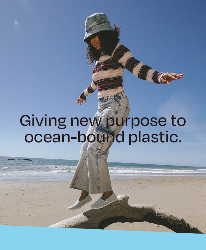 Giving new purpose to ocean-bound plastic.
