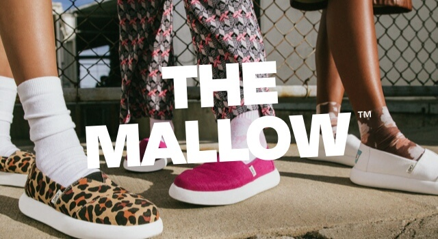 Models shown wearing the Mallow.