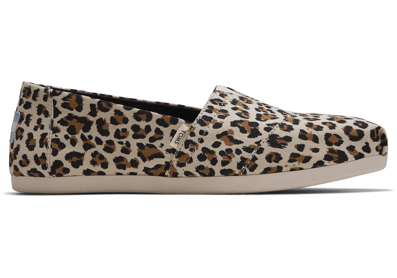 toms leopard print flats