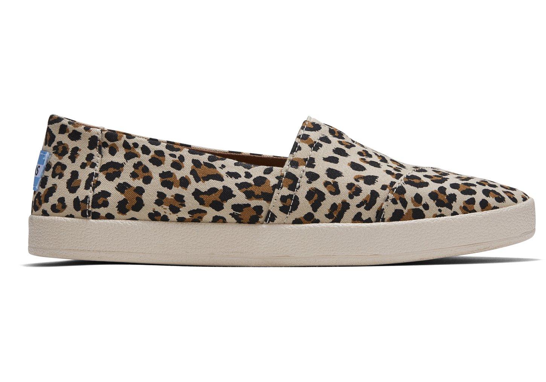 Birch Leopard Print Womens Avalon Slip