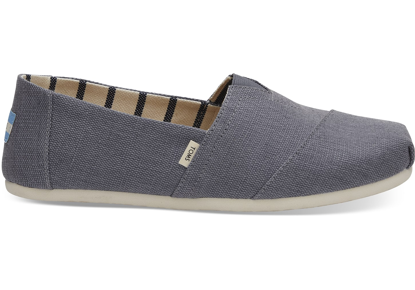 toms Shade Heritage Canvas Men's Classic Alpargatas Venice Collection Espadrilles Grey