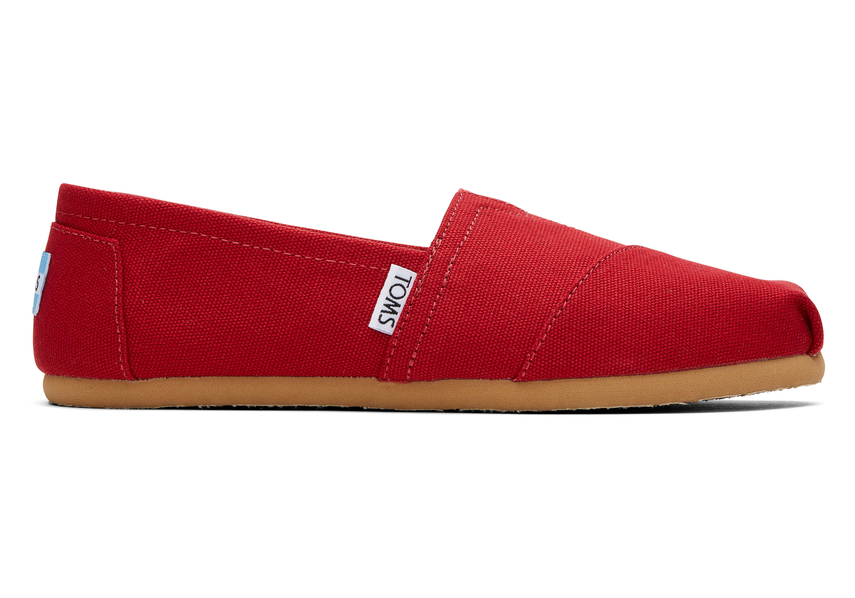 Red Canvas Women's Classics | TOMS