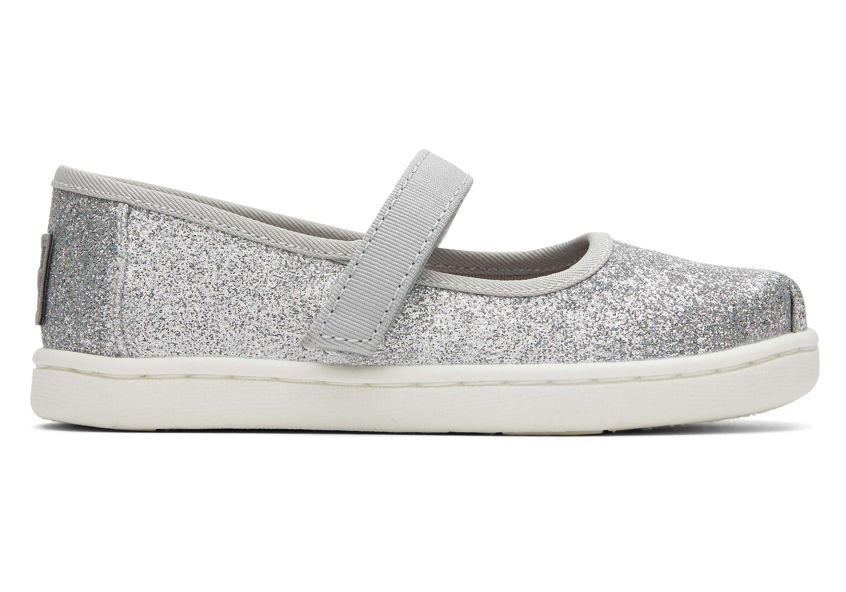 Silver Iridescent Glimmer Tiny TOMS