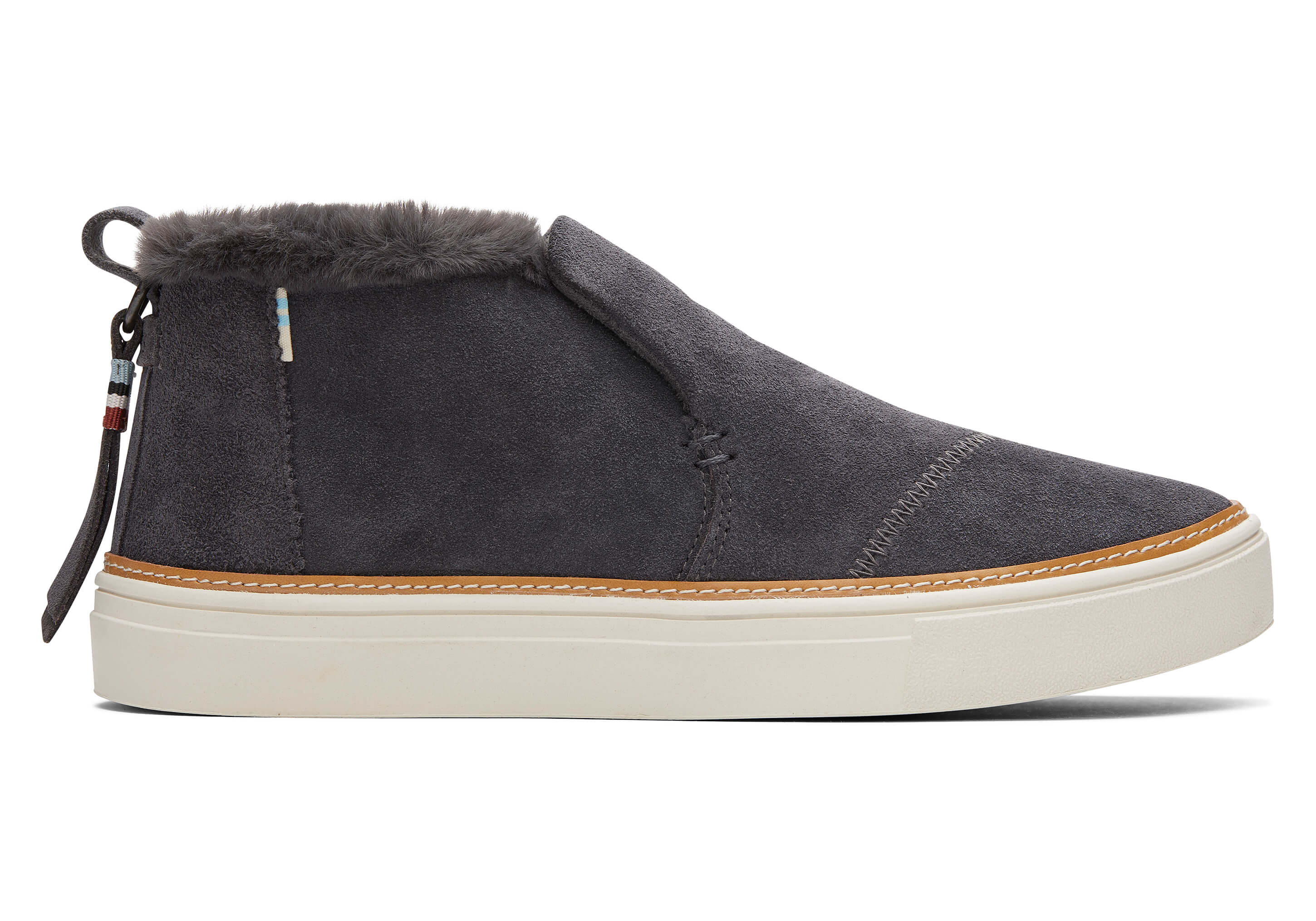 Forged Iron Grey Suede Women's Paxton
